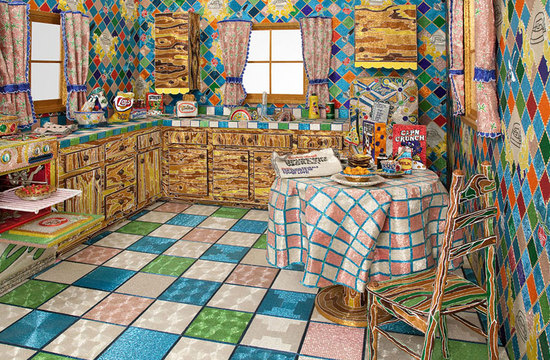 5 Brilliantly Crazy, Colourful and Creative Kitchen