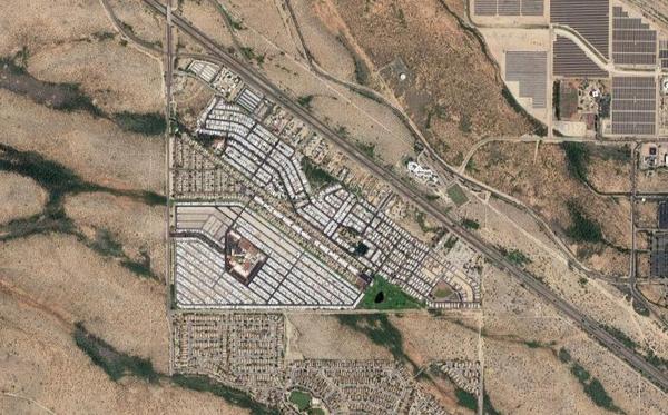 Trails West, Arizona on Google Maps