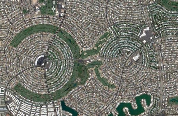 Sun City, Arizona on Google Maps
