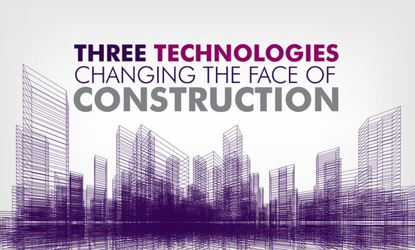 Construction technology infographic