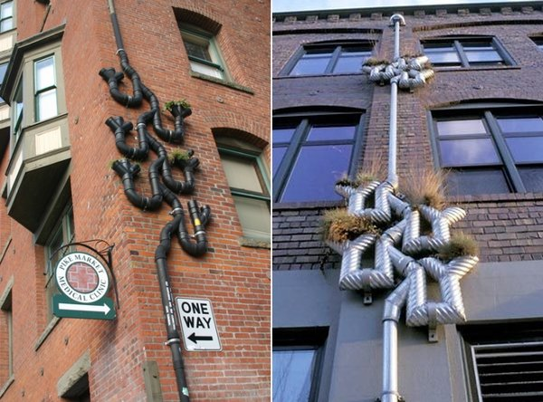 Pimped Out Drainpipes